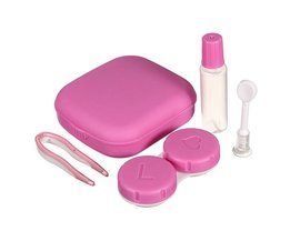 Roze Lenzendoosje met Accessoires