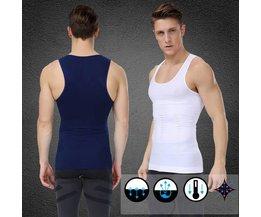 Afslank Shirt Mannen