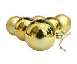 Gouden Kerstballen