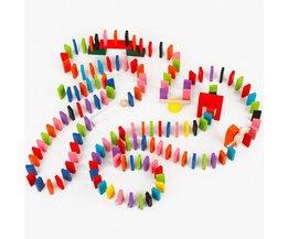 Houten Dominostenen 120 Stuks