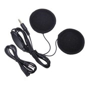Stereo Headset voor in Motor Helm
