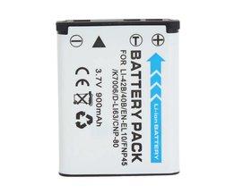 Oplaadbare Li ion Batterij voor Camera