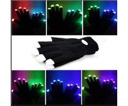 Lichtgevende Handschoenen