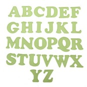 26 Engelse Glow In The Dark Letter Stickers