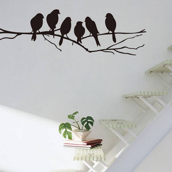 Muurstickers Tak Met Vogels.Muursticker Tak Vogels Kopen I Myxlshop