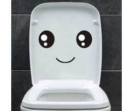 Toilet-sticker Smiley