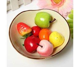 Plastic Fruit Decoraties