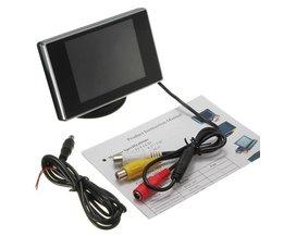 3.5 Inch LCD Monitor voor een Achteruitrijcamera