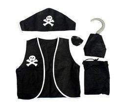 Piratenkostuum 5-in-1