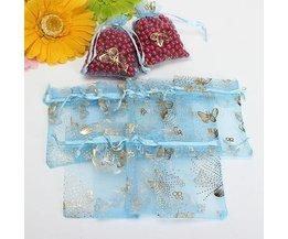 Cadeauzakjes met Vlinderdesign 100 Stuks
