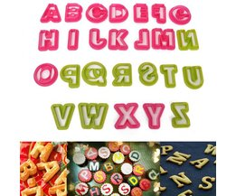 Letter Uitstekers Alfabet