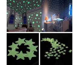 Glow In The Dark Ster Stickers