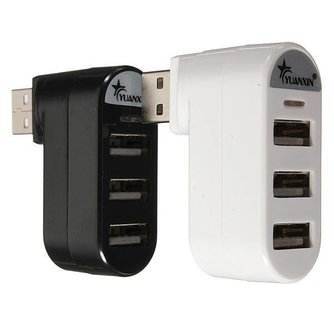USB 2.0 Splitter 3 in 1