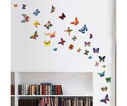 Vlinders Muurstickers