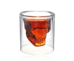 Wodkaglas Schedel
