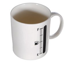 Warmtegevoelige Mok met Thermometer