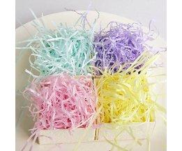 Opvulmateriaal Papier Gekleurd 100g