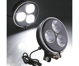 Motor LED Verlichting: Sterke Koplamp ook voor E-Bike