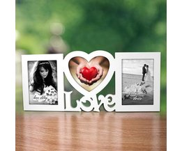 Love Fotolijst voor 3 Foto´s