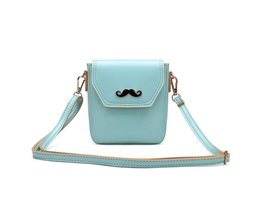 Kleine Handtas met Snor