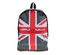 Rugzak met Engelse Vlag