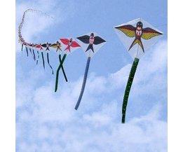 Boog Vliegers In de Vorm Van Zwaluwen