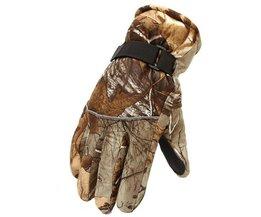Beste Ski Handschoenen In Camouflagekleur