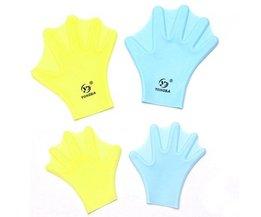 Siliconen Handschoenen voor Zwemmen