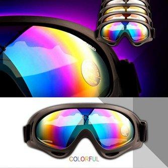 Skibrillen Met Meerkleurige Glazen