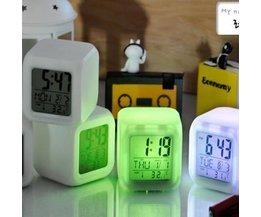 Digitale Wekker met LED licht