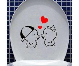 WC Bril Sticker Waterdicht