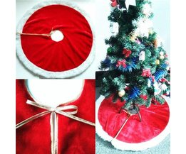 Pluche Rok voor om de Kerstboom