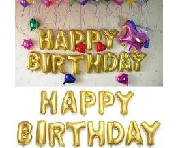 Verjaardagsballonnen Goud