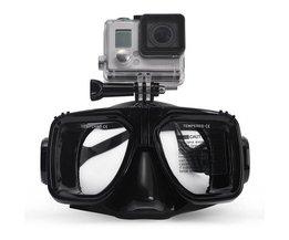 Losse Duikbril Met Houder Voor  een Go Pro Camera