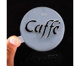 Sjabloon Voor Koffie