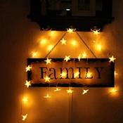 Sterren Lichtjes LED Snoer