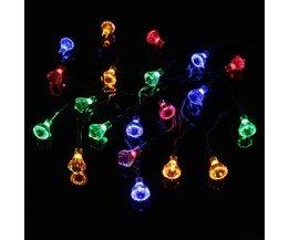 LED Lampensnoer Op Zonne-Energie