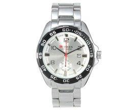 Horloge met Stalen Horlogeband