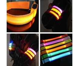 LED Veiligheidsarmband In Meerdere Kleuren