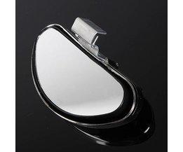Universele Zilveren Dodehoekspiegel voor de Auto