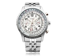Horloge JARAGAR Van RVS