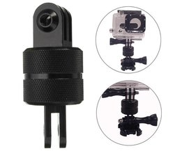 Camera Statief Adapter voor Gopro Hero 1 2 3 + 4, SJcam