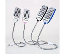 Flexibele LED Leeslamp met USB