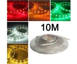 LED Lichtslang Met Lengte 10M En Meerdere Kleuren