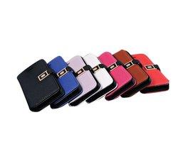 Wallet voor iPhone 5 van PU Leer