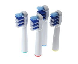 4 Opzetborsteltjes voor uw Elektrische Oral-B Tandenborstel