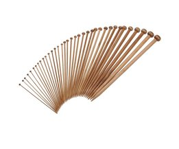 Breinaalden Bamboe 36Stuks 18Maten