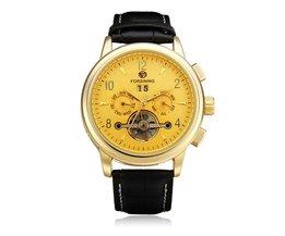 Forsining Mechanisch Horloge met Vliegwiel voor Heren