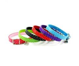Hondenhalsband met Polka Dot Design