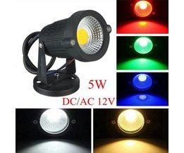 5W LED Tuinverlichting In Meerdere Kleuren